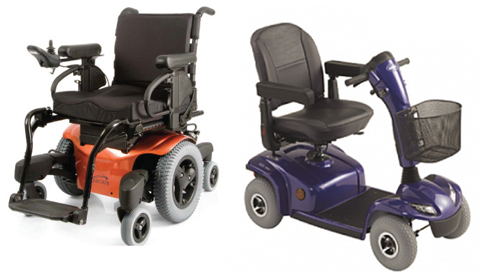 Wheelchair or Scooter? Which product is right for you?