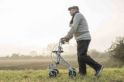 How to Choose a Walker or Rollator